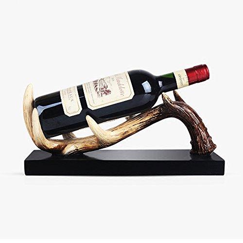 KMYX Continental Vintage Hars Wijnrek Binnen Wijnkast Decoraties Prachtig TV Kabinet Ornamenten Creativiteit Flessenrek