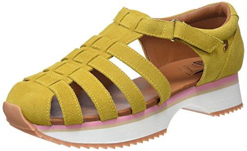 Gioseppo 43393, Zapatillas sin Cordones para Mujer, Amarillo (Mostaza), 38 EU