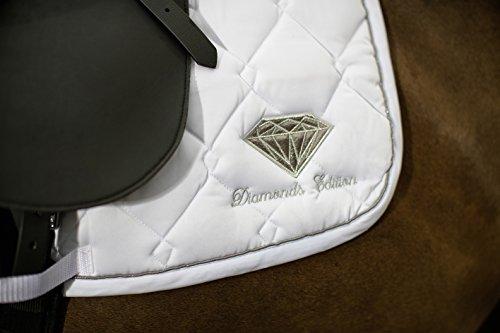 Euroriding Schabracke Diamonds, Größe:VS, Farbe:weiß (1200)