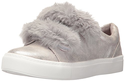 Dirty Laundry by Chinese Laundry Women's Jordan Fashion Sneaker, Silver Shimmer, 7 M US