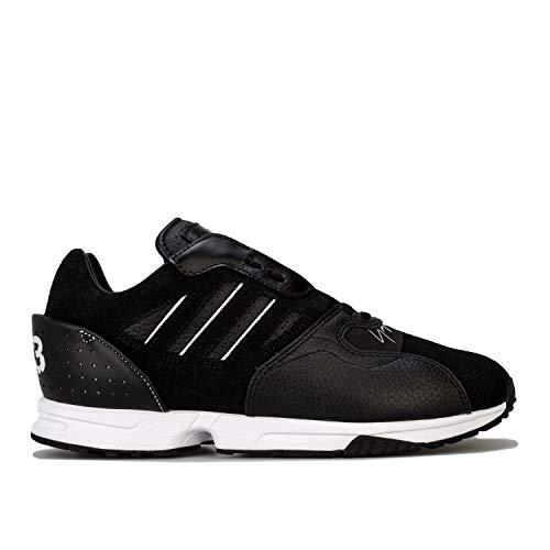 Mens Y 3 Mens Y 3 ZX Run Trainers in Black White UK 9