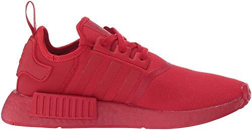 adidas Originals NMD_R1, Zapatillas Deportivas. Hombre, Rojo (Scarlet), 46.5 EU