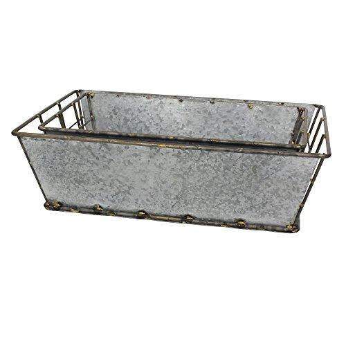 caja almacenamiento galvanizado fabricante Stonebriar