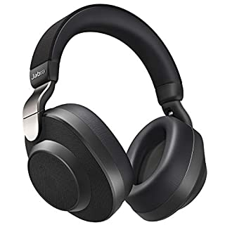 Jabra Elite 85h Wireless Noise-Canceling Headphones, Titanium Black – Over Ear Bluetooth Headphones Compatible with iPhone & Android - Built-in Microphone, Long Battery Life - Rain & Water Resistant (B07RQ366VK) | Amazon price tracker / tracking, Amazon price history charts, Amazon price watches, Amazon price drop alerts