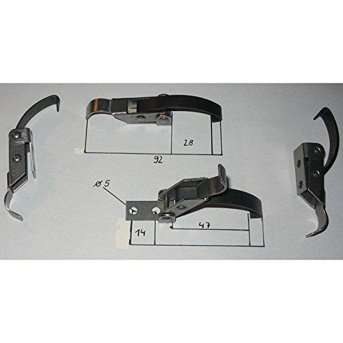 4 Stück Schnellspannverschluss/Hebelspannverschluß / Schnappverschluss
