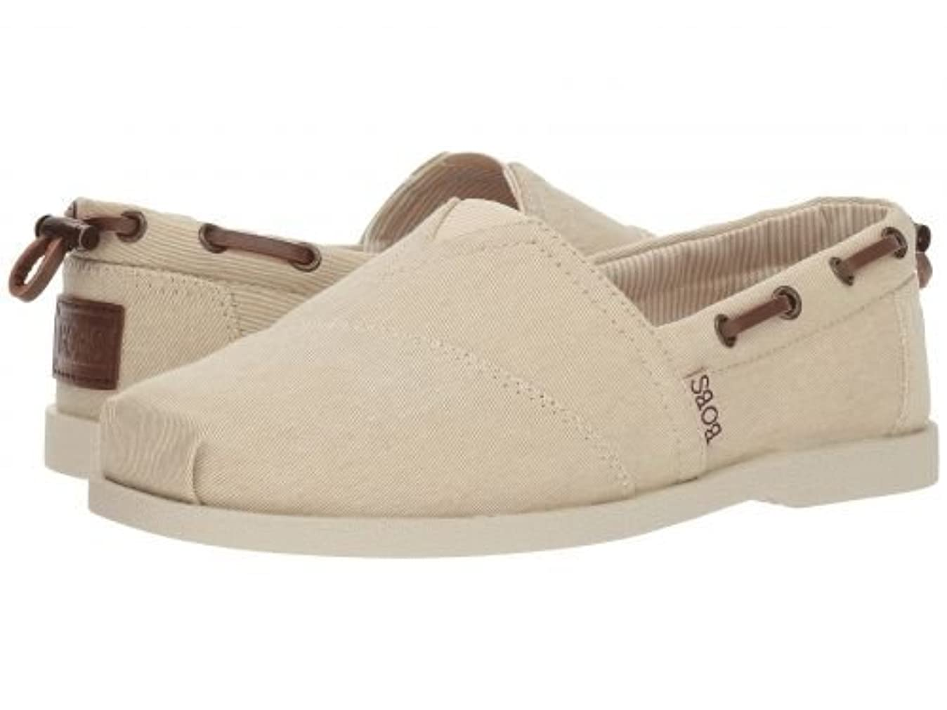 輝く文明化に対応BOBS from SKECHERS(ボブス スケッチャーズ) レディース 女性用 シューズ 靴 ローファー ボートシューズ Chill Luxe - Fancy Me - Natural [並行輸入品]