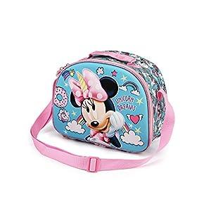 Karactermania Minnie Mouse Unicornio – Bolsa Portameriendas 3D, Multicolor