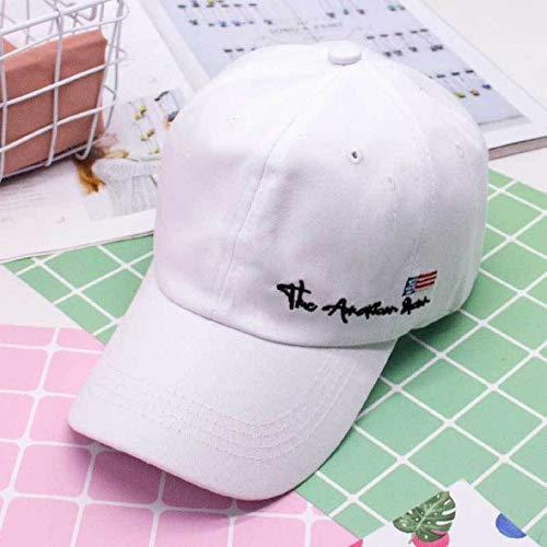 wtnhz Hut weiblicher Sommer koreanischer Briefstickmütze Student Street Fashion Hipster Baseballmütze weiblich