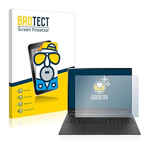 BROTECT Entspiegelungs-Schutzfolie kompatibel mit LG Gram 16'' 2-in-1 Bildschirmschutz-Folie Matt, Anti-Reflex, Anti-Fingerprint