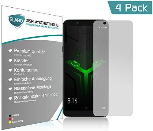 Slabo 4 x Bildschirmschutzfolie für Xiaomi Black Shark Helo Bildschirmfolie Schutzfolie Folie Zubehör No Reflexion MATT