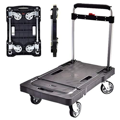 lcc Carro de Equipaje Plegable con Capacidad de 200 kg, Carretilla de...