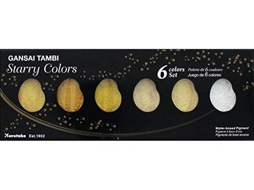 Kuretake Gansai Tambi 6 Set, Starry Colors