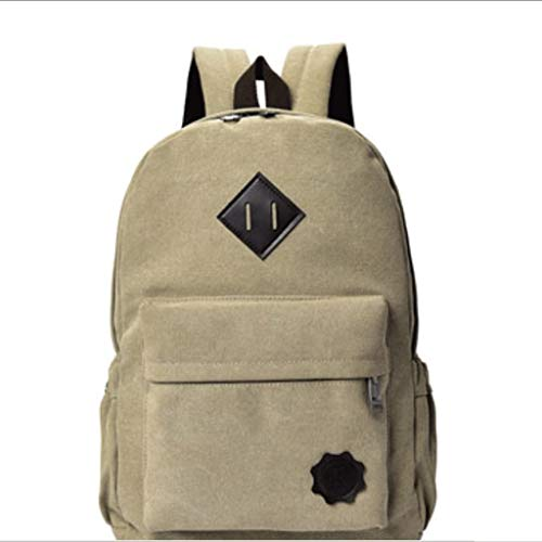 GFDFD Canvas School Backpack Randonnée Sac à Dos College Bookbags (Color : A)