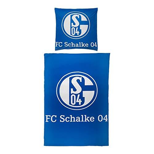 FC Schalke 04 Bettwäsche Signet 135x200 cm