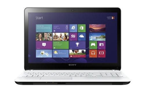 Sony VAIO Fit E 15.5-inch Laptop (White) - (Core i3 1.9GHz Processor, 4GB RAM, 750GB HDD, Windows 8)