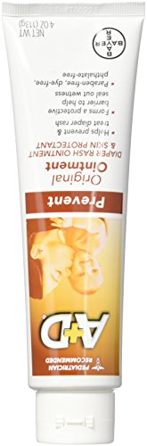 A + D Original Diaper Rash Ointment, 4 Ounce