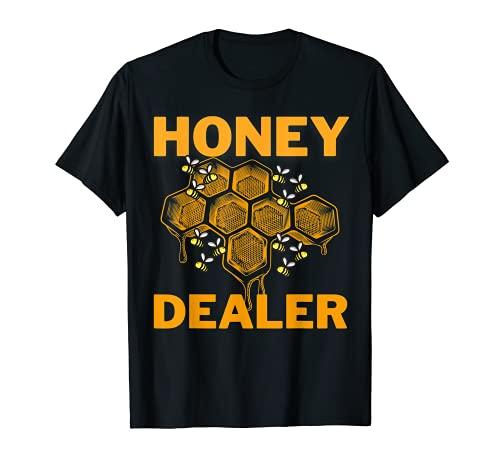 Distribuidor de miel Apicultor Amante de las abejas Miel Camiseta