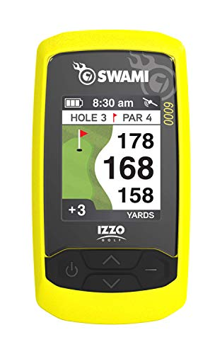 Izzo Swami 6000 Handheld Golf GPS Water-Resistant Color...