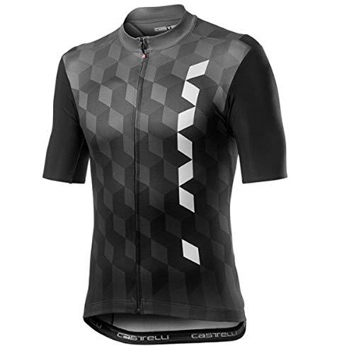 castelli Fuori Camiseta, Hombre, Forest Gray, XX-Large