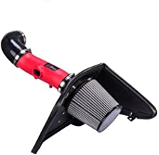 Velocity Concepts Cold RED AIR Intake KIT with Heat Shield for 2010-2011 Chevrolet Camaro 3.6L 3.6 V6 LS LT