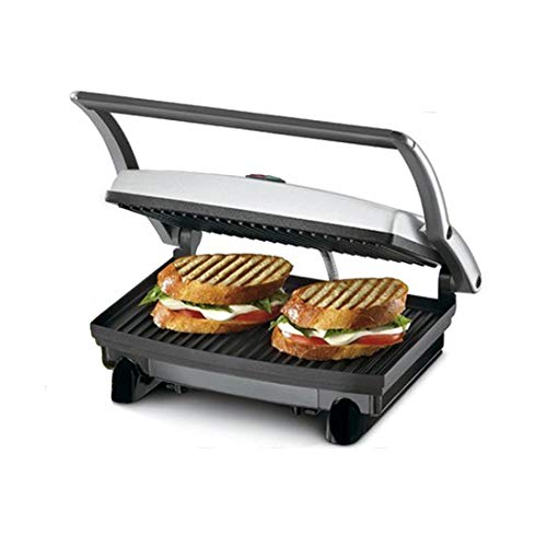 Nova NSG 2439 700 Watt Panini Grill Sandwich Maker (Black/Grey)