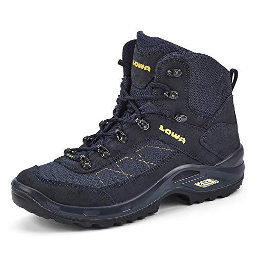 Lowa Taurus II GTX mid Sportschuhe Kinder Wanderschuhe Wanderstiefel Blau Wandern, Schuhgröße:EUR 43 | UK 9