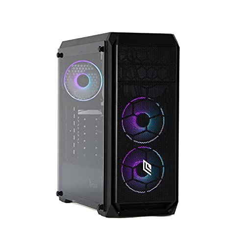 Mak Office R – Ordenador de sobremesa Intel i7 10700 K 8 Core 4,50 GHz Turbo, SSD NVME 1000 GB, RAM 16 GB 3000 MHz, con WiFi integrado, ordenador de oficina doméstica, HDMI Windows 10, PC mont