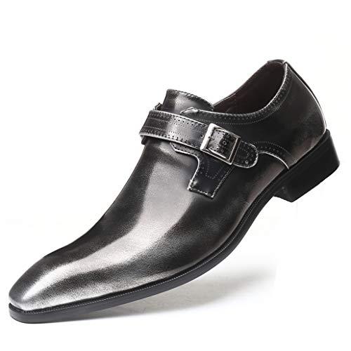 Zapatos de Fiesta de Boda para Hombre Vestido de Gorro Toe Oxfords...