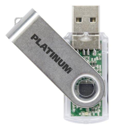 Platinum TWS 4 GB USB-Stick USB 2.0 transparent