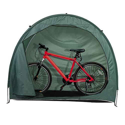 Rehomy Tienda de Bicicletas Cobertizo para Bicicletas Almacenamiento en El Jardín Cubierta a Prueba de Polvo E Impermeable para Acampar en El Patio Al Aire Libre Senderismo