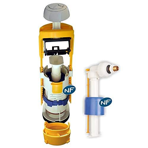 embase pour r/éservoir bi-flo 150 et 251 Regiplast 300777N Soupape Blanc