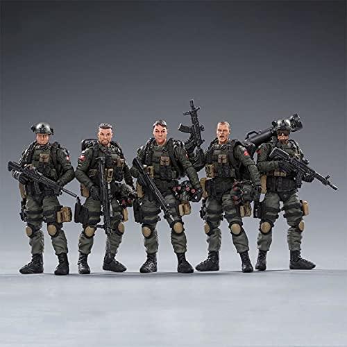 Action Figure Army Counter-Terrorism Force Model Toys, 1/18 Special Forces Soldier Model PVC Modell Puppe Geschenk Für Fotografie, Hobby und Sammlung