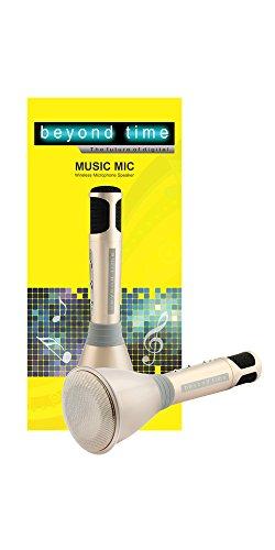 Beyond Time Karaoke Music Mic Bluetooth Speaker Microphone