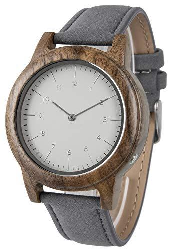 Funk-Armbanduhr Holz
