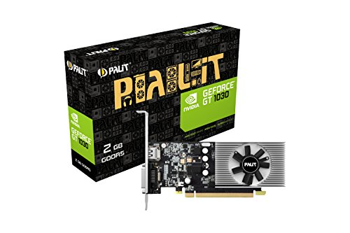 Palit GeForce GT 1030 2 GB GDDR5 PCI Express 3.0 Low Profile Grafikkarte – Schwarz
