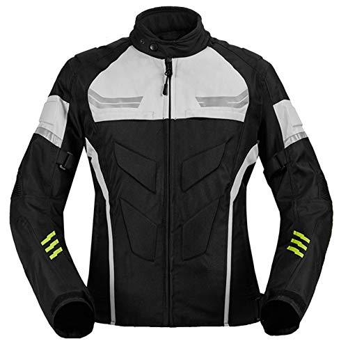 DNJKH Chaqueta de Motocicleta Hombres Cuerpo Blindado, Protección para Motocross, Conducción al Aire Libre