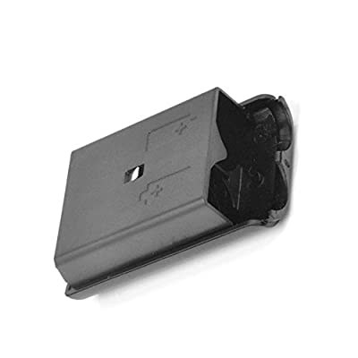 Battery Pack Cover Shell Shield Case For Microsoft Xbox 360 Wireless Controller Game Gamepad Black from Oyanor