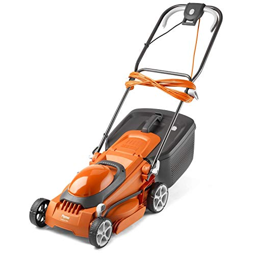 Flymo EasiStore 380R Electric Rotary Lawn Mower - 38 cm Cutting Width,...