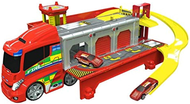 Teamsterz 1416429 Fire Station Truck