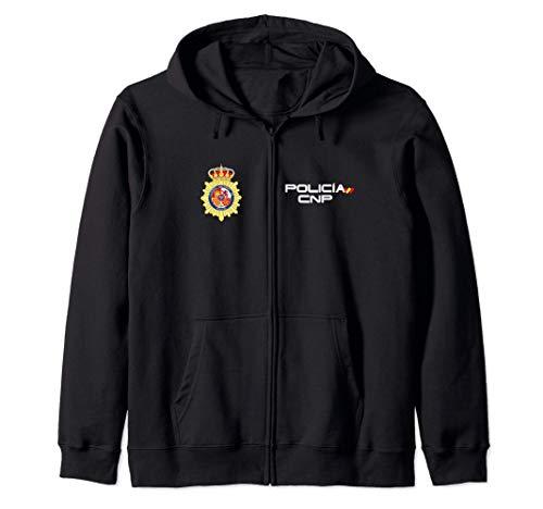 Camiseta de Policia Nacional Espaa Sudadera con Capucha