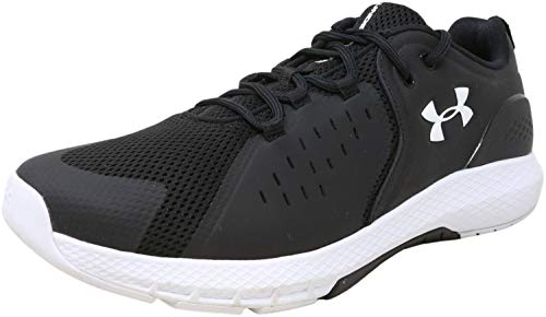 Under Armour Men's Charged Commit TR 2.0 Cross Trainer, Black (001)/White, 8.5