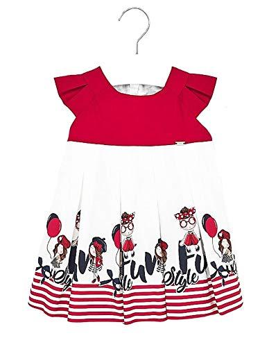 Mayoral 20-01914-052 - Vestido para bebé niña 12 Meses