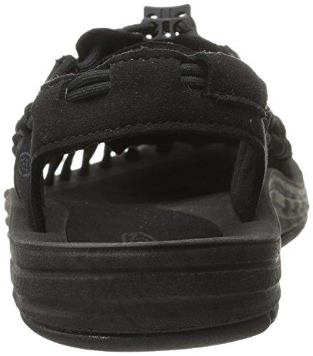 [キーン]サンダルUNEEK(現行モデル)レディースBLACK/BLACK23.5cmD