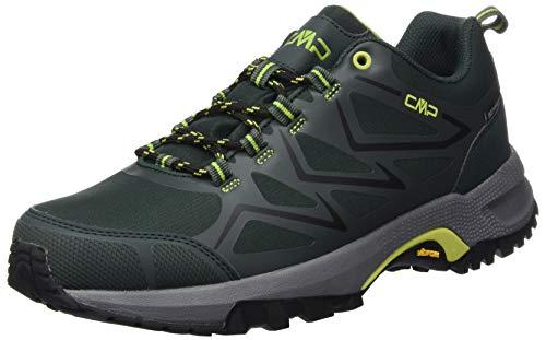 CMP – F.lli Campagnolo Gemini Low Trekking Shoe WP, Zapatillas de Senderismo Hombre, Verde Jungle U940, 44 EU