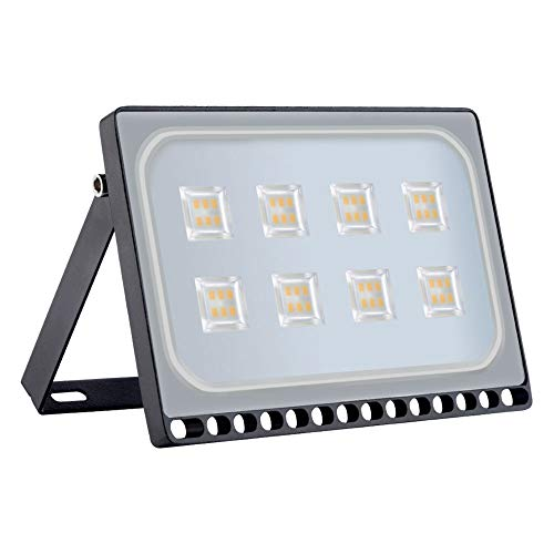 resistente al agua IP65 luz amplia Blanco Natural 4000K,5000lm ALOTOA/® 50W Foco proyector LED para exteriores luz de seguridad Bajo Consumo de Energ/ía y Alto Brillo Larga Vida /…