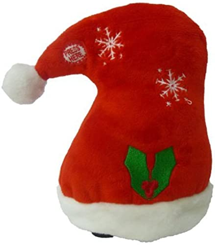 Singing Walking Christmas Hat Musical Plush Toy with Motion by BZB Goods