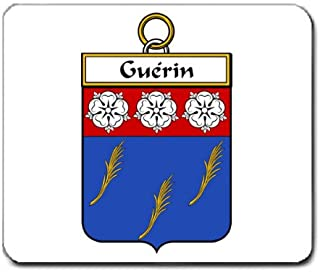 Guerin Family Crest Coat of Arms Mouse Pad