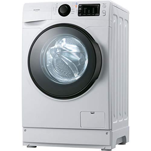 アイリスオーヤマ ドラム式洗濯機 8.0kg ホワイト HD81AR-W