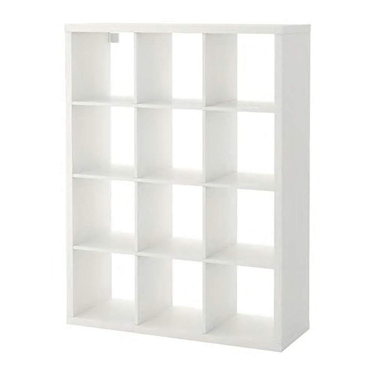 引数弁護士司教IKEA/イケア KALLAX/カラックス:シェルフユニット112x147 cm ホワイト (604.099.39)