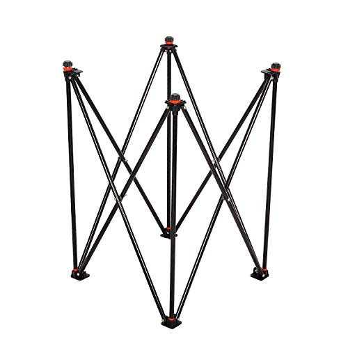 GSI Foldable Height Adjustable Carrom Board Stand Professional Easy Fold Hydraulic Premium Quality for Carrom